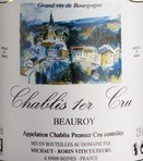 Domaine de la Motte, Chablis ler Cru Beauroy