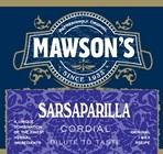 Sarsaparilla Cordial 1 Litre Bottle Plastic